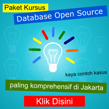 Training PostgreSQL dan Database Lainnya